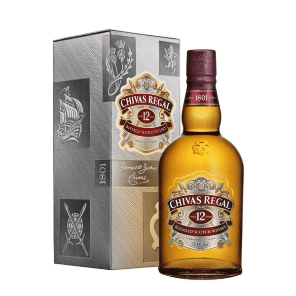 CHIVAS REGAL 12 Year Old (Giftboxed)